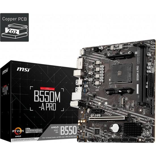 MSI B550M-A Pro DDR4 Pci Express 4.0 Anakart