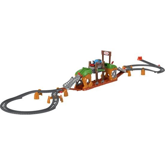 Fisher-Price Thomas ve Arkadaşları Yürüyen Köprü Tren Seti, Okul Öncesi Çağdaki Çocuklar İçin Motorlu Tren İçeren Oyun Seti GHK84
