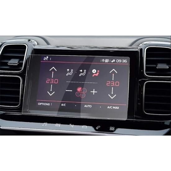 OLED Garaj Citroen C5 Aircross Navigasyon 9h Temperli Ekran Koruyucu
