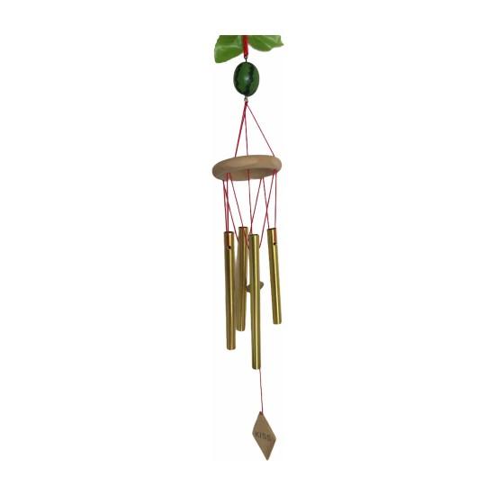 Miamantra Karpuzlu Feng Shui Metal Rüzgar Çanı