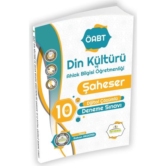 Informal Yayınları Öabt Din Kültürü ve Ahlak Bilgisi Öğretmenliği Şaheser 10'lu Dijital Çözümlü Deneme Sınavı Ekitap İndir | PDF | ePub | Mobi
