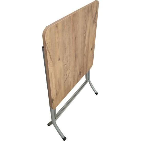 Sadeceonda Katlanır Balkon Masası 60 x 60 cm