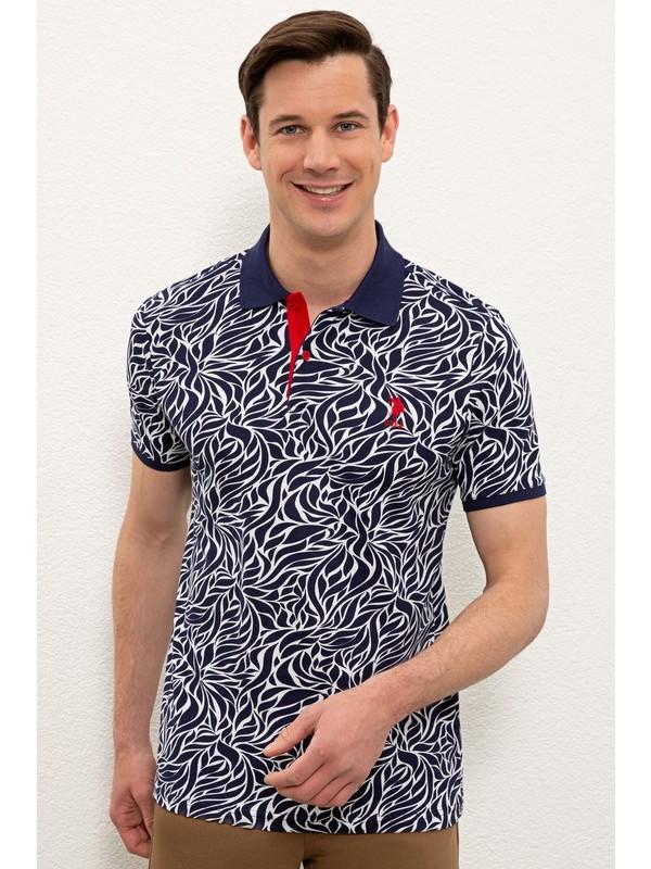 U.S. Polo Assn. Lacivert T-Shirt 50238089-VR033