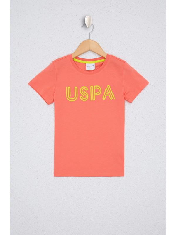 U.S. Polo Assn. Erkek Çocuk Kırmızı T-Shirt 50238371-VR039