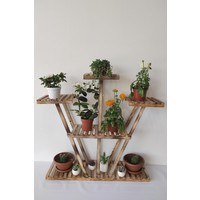 Hepenuygun Saksı Standı 5 Katlı Saksılık Çiçeklik Çok Katlı Dekoratif Saksı Standı