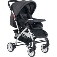 Cansın Mini Active Beyaz Çift Yönlü Bebek Arabası-Antrasit 98246-3
