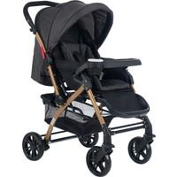 Cansın Mini Active Gold Çift Yönlü Bebek Arabası-Antrasit 98245