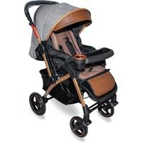 Cansın Mini Active A-Plus Gold Çift Yönlü Bebek Arabası Gri 98243