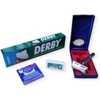 Tima Derby Tıraş Seti Kullan At Kan Taşı ve Derby 10 Lu Jilet