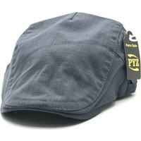 Accessory City Yazlık Tokalı Erkek Keten Kasket Şapka