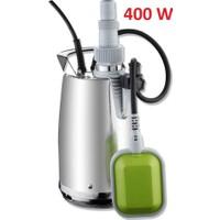 Impo Q40065 Paslanmaz Çelik Gövdeli Dalgıç POMPA-400 Watt