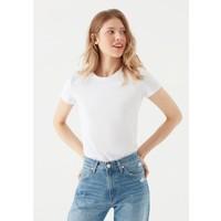 Mavi Kadın Beyaz Basic Tişört 162767-620
