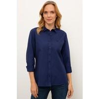U.S. Polo Assn. Lacivert Gömlek Uzunkol Basic 50238155-VR033