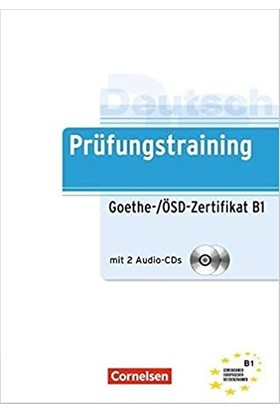 Cornelsen Yayınları - Prüfungstrai̇ni̇ng Goethe/ösdzerti̇fi̇kat B1 Übungsbuch Mi̇t Lösungen Und CD - Gabi Baier