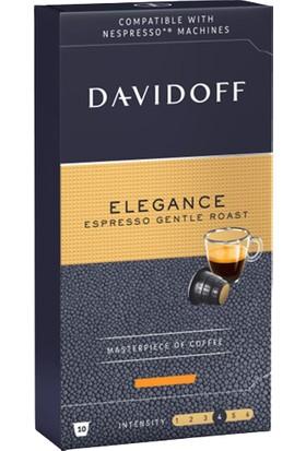 Davidoff Elegance Espresso Gentle Roast Kapsül Kahve 3X10'LU ( Nespresso Uyumlu)