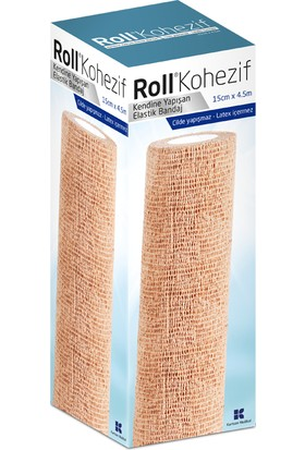 Kurtsan Marmara Norm - Roll Kohezif Elastik Bandaj 15CM x 4.5m