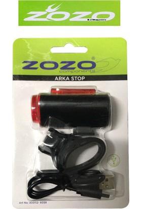 Zozo 6058 USB Şarjlı LED Güçlü Arka Stop