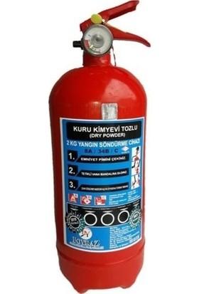 Poyraz Yangın Söndürme Tüpü Söndürücü Tüpü 2 kg