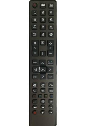Showmax SX1114 Vestel LCD Hd Gri Büyük Kalıp Tv Kumandası