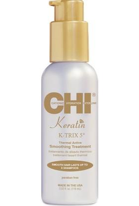 Chi Keratin K-Trix 5 Isı İle Aktive Olan Düzleştirici Krem 115 ml