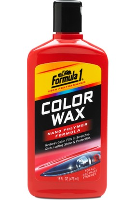 Formula 1 Renkli Sıvı Cila 473 ml Kırmızı FF1-5482