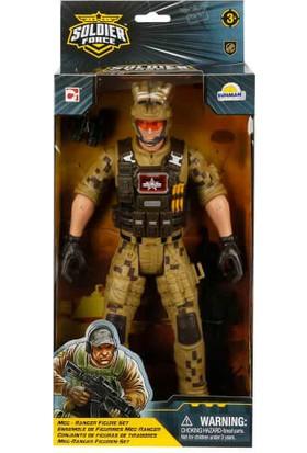 Soldier Force Asker Figür 32 Cm.