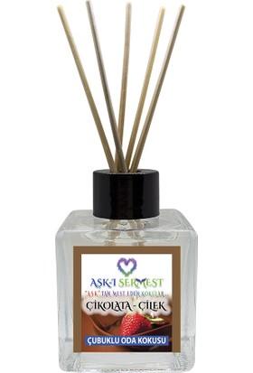 Aşk-I Sermest Invicctuss Çiçek Aromalı Bambu Çubuklu Oda Kokusu Parfüm, Küp Şişe, 60 ml, 5'li