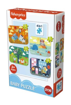 Zoe Fisher-Price Baby Puzzle/3 Yaş Puzzle