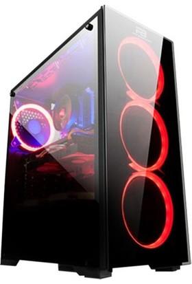Gamer365 AMD Ryzen 5 2600 8GB 1TB + 250GB SSD R7 240 Freedos Masaüstü Bilgisayar G365121