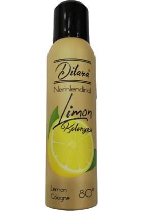 Dilara Nemlendiricili Limon Kolonyası 80 Derece 150 ml