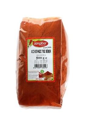 Zengibar Acı Kırmızı Toz Biber 500 gr