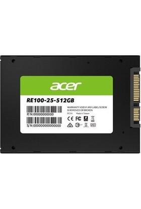 """Acer RE100 512GB 450MB-500MB/S Sata 2.5"""" SSD BL.9BWWA.108"""