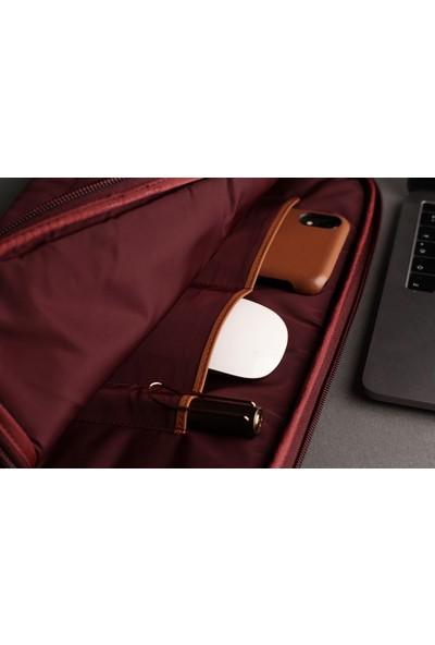 "Bustha Packers/c 'puffer Apple MacBook Air ve Pro 13"" Çantası Bordo"