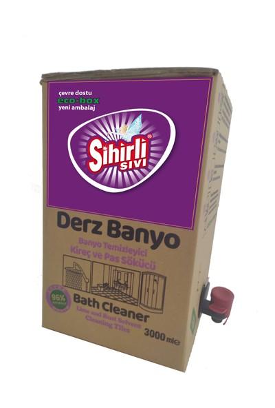 Sihirli Sıvı Banyo Derz Temizleyici Bag In Box. Doğa Dostu Temizlik 3 Lt