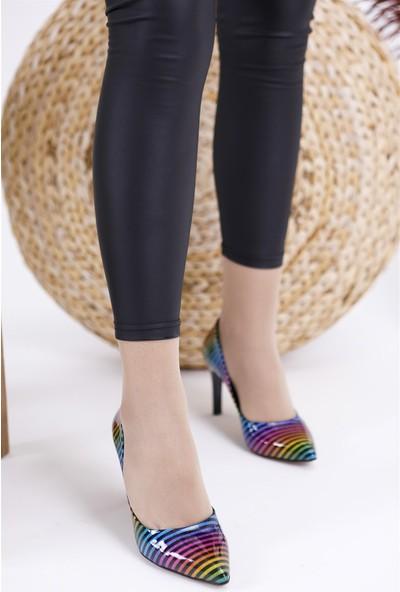 Park Moda Gökkuşağı Kadın Stiletto