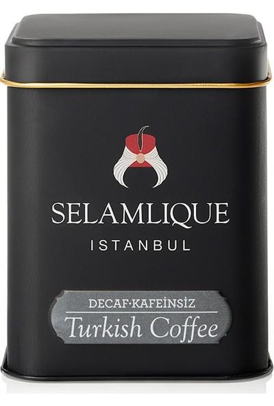Selamlique Kafeinsiz Türk Kahvesi (125 Gr)