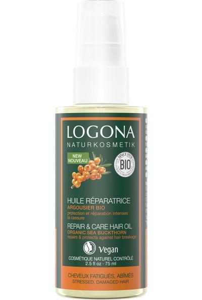 Logona Onarıcı Saç Bakım Yağı - Organik Yabani Iğde Özlü 75 ml