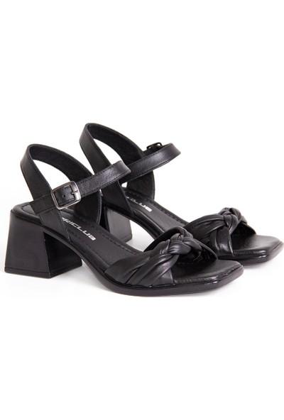 Dericlub 19001 Deri Kadın Sandalet