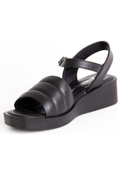 Dericlub 22014 Deri Kadın Sandalet