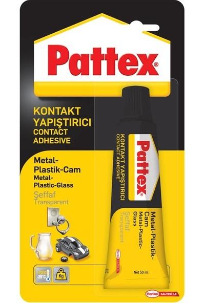 Pattex Metal -Plastik- Cam Yapıştırıcı 50 gr Tüp