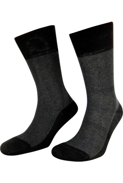 Pola Erkek Pedrbambu Soket Çorap (12 Adet)