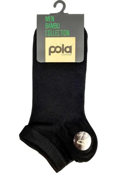 Pola Erkek Abella Bambu Patik Çorap (12 Adet)