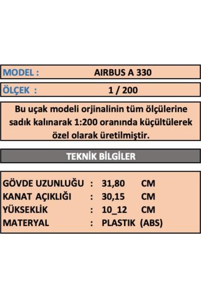 Tk Collectıon Aırbus 330 Model Ucak 1/200