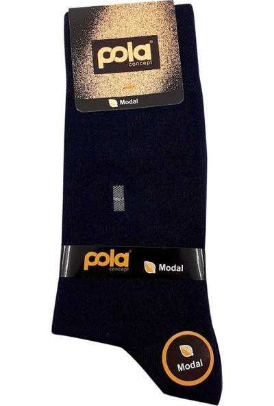 Pola Erkek Soket Çorap Üzün Desenli