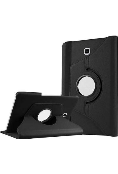 "Canpay Samsung Galaxy T715 Kılıf (Tab S2 8"") Standlı Pu-Leather Desing Tablet Kılıfı Siyah"