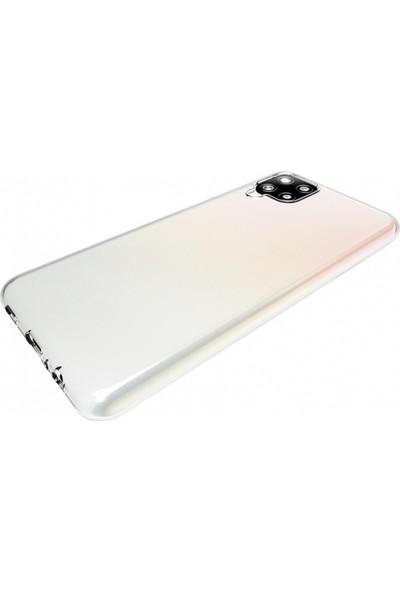 Kilifplus Samsung Galaxy A12 Kılıf Ultra Ince Esnek Süper Silikon 0.3mm Şeffaf