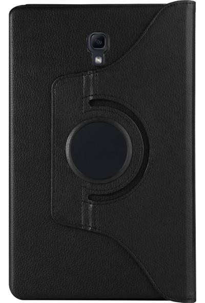 Hesaplı Dünya Samsung Galaxy Tab S4 10.5inç T830 T835 T837 Kılıf 360 Dönebilen Standlı Kapaklı