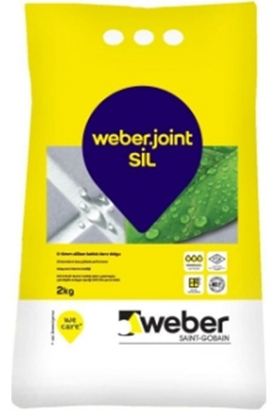 Weber Joint Siyah Silikonlu Derz Dolgu 2 kg