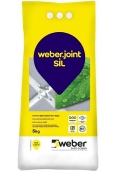 Weber Joint Silikonlu Derz Dolgusu Antrasit 5 kg