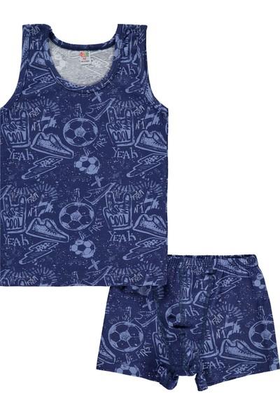 OTS Öts Erkek Çocuk Iç Çamaşır Takımı 2-12 Yaş Lacivert